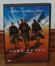 TRES REYES - THREE KINGS -DVD - NUEVO - GEORGE CLOONEY - MARK WAHLBERG - ACCION