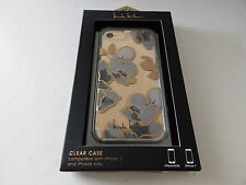 Nicole Miller Flex-It Case For iPhone 7 iPhone 6 iPhone 6S Flowers/Clear/Multi