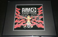 Public Enemy Group Signed Framed 16x20 Photo Poster Display JSA