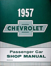 Best 1957 Chevrolet Car Repair Shop Manual 57 Chevy Bel Air 150 210 Nomad Wagons