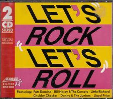 DOUBLE CD 36T LITTLE RICHARD/CHUCK BERRY/FATS DOMINO/PETERSON/COASTERS/CHECKER