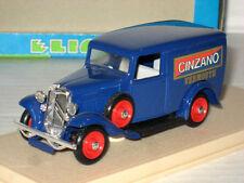ELIGOR 1:43 AUTO DIE CAST CITROEN CAMIONNETTE 500 KILOS 1934 CINZANO ART 1012