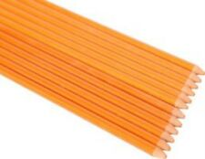 4ft 10Pack 1/4Inch Dia Orange Garden Stakes, Plant Stakes Never Rust