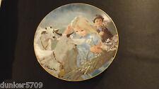 MOUNTAIN FRIENDS FIRST PLATE THORNTON UTZ THE SUMMER DAYS OF CHILDHOOD 1983