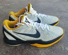 Nike Zoom Kobe VI 6 Del Sol OG Steelers Size 11 429659-103
