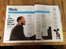 Entertainment Weekly - December 9, 2016 (John Legend)