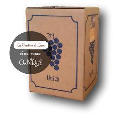Vino Rosso Onda Bag in Box lt.20  - Vini Sfusi Sardegna -