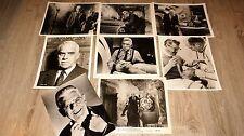 FRANKENSTEIN 1970 ! b karloff rare photos presse argentique cinema