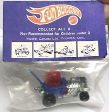 Hot Wheels Redline Fun Buggies Red Lighter Sealed In Canadian Pack 1970s Zowee