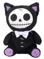 Small Black Mao Mao Furry Bones Skellies Plush Toy