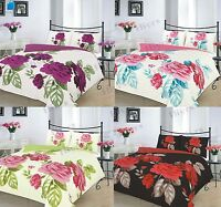 Duvet Cover with Pillow Case Quilt Cover Bedding Set isabella flower lot Size