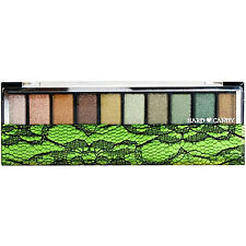 HARD CANDY Make Up Top Ten Eye Shadow collection Green with Envy Palette