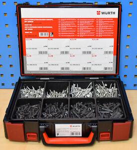 Würth Schrauben und Dübel Set Sortiment im Systemkoffer Dübelset