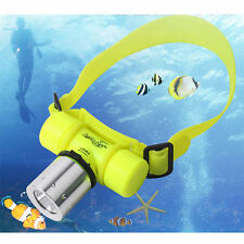 LED Waterproof Zoom Diving Head Torch Light Lamp Flashlight Headlight Dive 1227