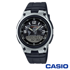 CASIO AW-80-1A2VES MENS ANALOGUE DIGITAL QUARTZ WATCH W/ RESIN STRAP - BLACK