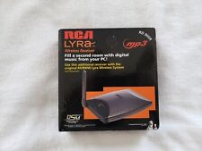 RCA Lyra Wireless Receiver RD 900R MP3 DSM