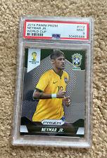 2014 Panini Prizm World Cup Neymar Jr. #112 PSA 9 Brazil