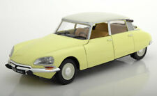 CITROEN D SPECIAL 1972 JAUNE PANAMA SOLIDO 1800704 1/18 WHITE ROOF DS YELLOW