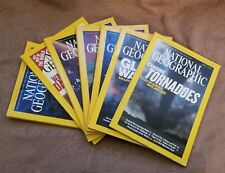 National Geographic Collection of Good Magazines (Lot of 7)