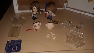Final Fantasy X X-2 Yuna Trading Arts Figure Set Loose! Read Description