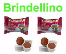 100 CAPSULE CAFFE GIMOKA GRAN BAR INTENSO X LAVAZZA CREMA E AROMA ESPRESSO POINT