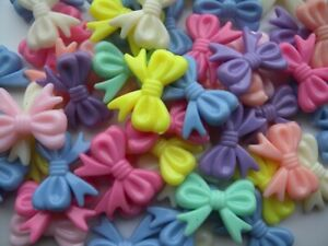 25 High Quality Large Bow Knot Beads - 30x20mm - Free P&P