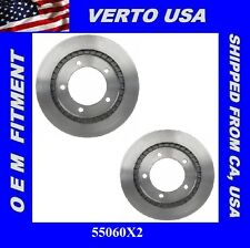 Set Of 2 Brake Rotors- Front , fit Chevrolet Tracker , Suzuki ,  55060X2