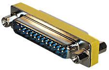 Adapter Gender Changer Sub D-Stecker 25 pol. - Sub D-Stecker 25 pol., 1:1 gescha