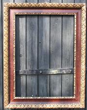 Großer Rahmen Stuckrahmen antik Blattgold Bilderrahmen Spiegel 90 x 70 Bild