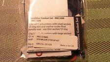 Genuine Amal Monobloc 376-series Major Repair Kit w/StayUp Float, Factory Sealed