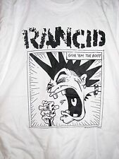 Rancid 1994 Give'em the Boot vintage licensed concert shirt Xl Rare! Brockum
