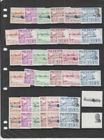 Liberia 1957 Imperf and Error Mint Never Hinged Stamps Ref 35931
