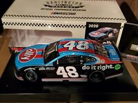 Jimmie Johnson 2020 Darlington Throwback 1/24 Petty Earnhardt Tribute ARC