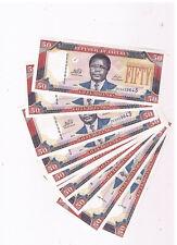 LIBERIA P29 10X50 DOLLARS 2011 CONSEC UNC