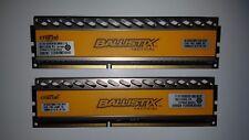 Excellent - Ballistix Tactical 16GB DDR3 1600 MT/s (PC3-12800) 240-Pin Memory