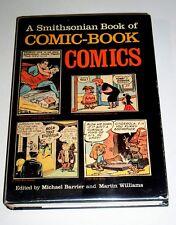 SMITHSONIAN BOOK OF COMIC-BOOK COMICS - HARDCOVER 1982