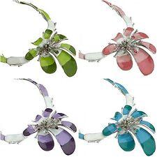 Crystal Enamel Statement Round Costume Necklaces & Pendants