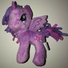 "2012 My Little Pony Plush Stuffed unicorn Purple 5"" Hasbro Twilight Sparkle"
