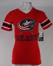 Columbus Blue Jackets NHL Women's V-Neck T-Shirt