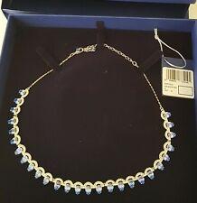 Swarovski Gallery Blue All Around Crystal Necklace 5277514 BNIB