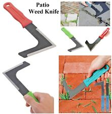 Garden Patio Weed Knife Weeding Tool Moss Remover Weeder Slab Groove Paving New