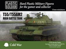 15mm T55 / T55AM2 MAIN BATTLE TANK MODV15001 - PLASTIC SOLDIER COMPANY -