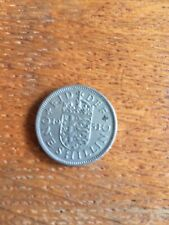 1953 England Coin One Shilling