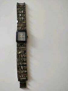 Ladies Dress Watch With Diamante Jewels from Accessorize with one spare link