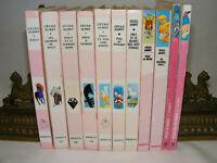 Lot de 11 livres POLY de Cécile AUBRY Bibliotèque rose Poney 60's 90's