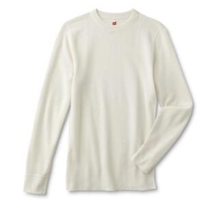 Men Thermal Shirt Hanes Ultimate X-Temp Crew Neck