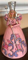 Jim Shore Wizard Of Oz Glinda Enesco Figurine Figure Pink Rare Hard To Find