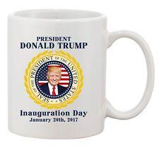 Trump Inauguration Day Trump President America USA Flag DT Coffee 11 Oz Mug