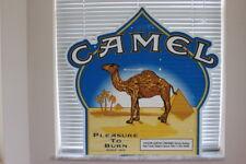 2000 Camel Cigarettes Advertising Corrugated Cardboard Sign Pleasure To Burn