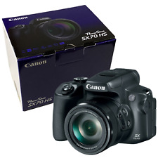 New Canon PowerShot SX70 HS Digital Camera - 20.3MP